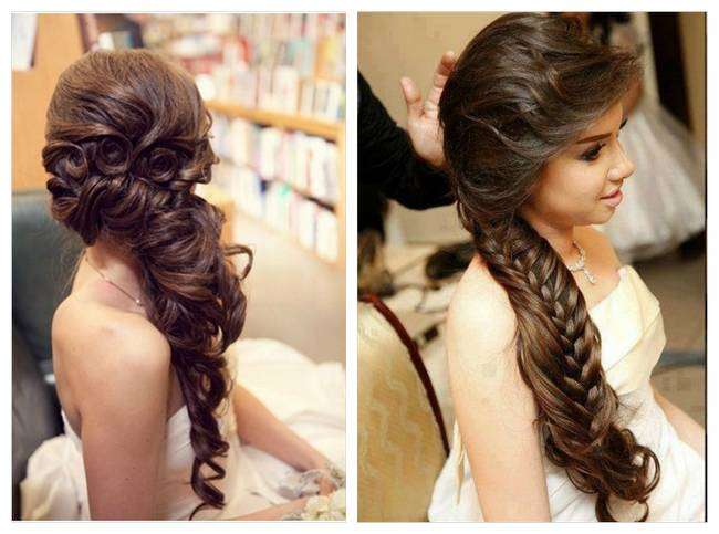 Romantic Bridal Hairstyle : Lovely and romantic bridal hairstyles